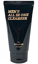 Духи, Парфюмерия, косметика Увлажняющая пенка-скраб для умывания - Village 11 Factory Men's All In One Cleanser