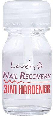 Отвердитель для ногтей 3 в 1 - Lovely Nail Recovery 3 in 1 Hardener — фото N1