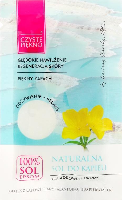 """Соль для ванны """"С маслом цветов"""" - Czyste Piękno — фото N1"""