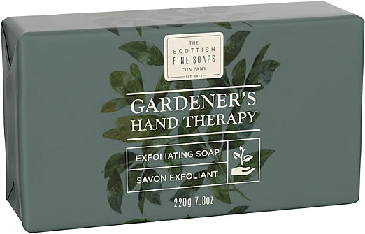 Мыло - Scottish Fine Soaps Gardeners Therapy Exfoliating Soap — фото N1
