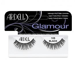 Духи, Парфюмерия, косметика Накладные ресницы - Ardell Glamour Eyelashes Black 103