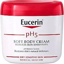 Духи, Парфюмерия, косметика Мягкий крем для тела - Eucerin Soft Body Cream