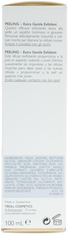 Экстра мягкий гель-эксфолиант - Declare Extra Gentle Exfoliant — фото N3