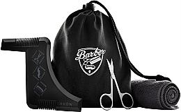 Духи, Парфюмерия, косметика Набор - Avon Men Barber Shop (h/clippers/1pcs + towel/1pcs + beard/styling/1pcs + bag)