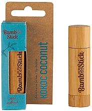 "Духи, Парфюмерия, косметика Масло для губ ""Кокос"" - Bamboostick Coconut Bamboo Natural Care Lip Butter"
