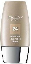 Духи, Парфюмерия, косметика Тональный крем с матирующим эффектом - BeYu Velvet Mat Foundation