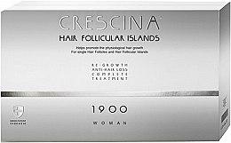 Духи, Парфюмерия, косметика Комплекс для лечения выпадения волос для женщин 1900 - Labo Crescina Hair Follicular Island Re-Growth Anti-Hair Loss Complete Treatment 1900 Woman