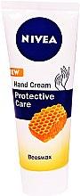 """Духи, Парфюмерия, косметика Крем для рук """"Защитный"""" с пчелиным воском - Nivea Protective Care Hand Cream"""