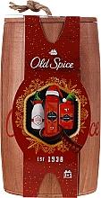 Духи, Парфюмерия, косметика Набор - Old Spice Captain Wooden (deo/50g + sh/gel/250ml + ash/lot/100ml)