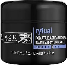 Духи, Парфюмерия, косметика Моделирующая помадка для волос - Black Professional Line Rytual