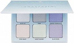 Духи, Парфюмерия, косметика Набор из 6-ти хайлайтеров - Anastasia Beverly Hills Glow Kit Highlighter