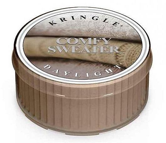 Чайная свеча - Kringle Candle Daylight Comfy Sweater — фото N1