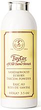 Духи, Парфюмерия, косметика Taylor of Old Bond Street Sandalwood Luxury Talcum Powder - Тальк
