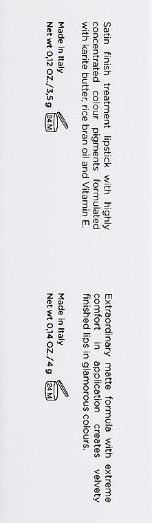 Матовая помада для губ - Lord & Berry Vogue Matte Lipstick — фото N3