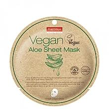 Духи, Парфюмерия, косметика Маска тканевая с алоэ - Purederm Vegan Sheet Mask Aloe