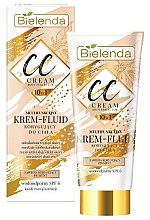 Духи, Парфюмерия, косметика CC крем-флюид для тела - Bielenda Magic CC 10in1 Body Correction Cream Waterproof Tanning Effect SPF6