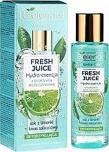 "Духи, Парфюмерия, косметика Гидроэссенция для лица ""Лайм"" - Bielenda Fresh Juice Detoxifying Face Hydro Essence Lime"