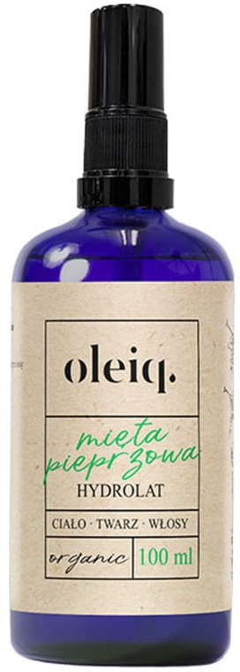 Гидролат мяты для лица, тела и волос - Oleiq Hydrolat Mint — фото N1