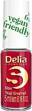 Духи, Парфюмерия, косметика Лак для ногтей - Delia Cosmetics S-Size Vegan Friendly Nail Enamel