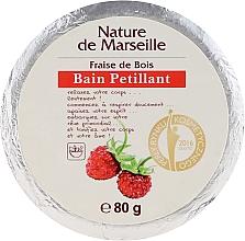Духи, Парфюмерия, косметика Бомбочка для ванны с ароматом земляники - Nature de Marseille Strawberries