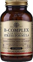 Духи, Парфюмерия, косметика Диетическая добавка - Solgar B-Complex With Vitamin C Stress Formula