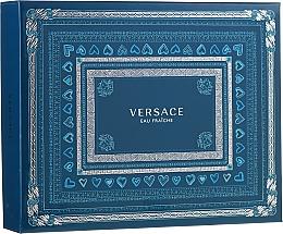 Духи, Парфюмерия, косметика Versace Man Eau Fraiche - Набор (edt 50ml + sh/gel 50ml + a/sh 50ml)
