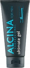 Духи, Парфюмерия, косметика Гель для волос очень сильной фиксации - Alcina For Men Hair Styling Ultimate Gel