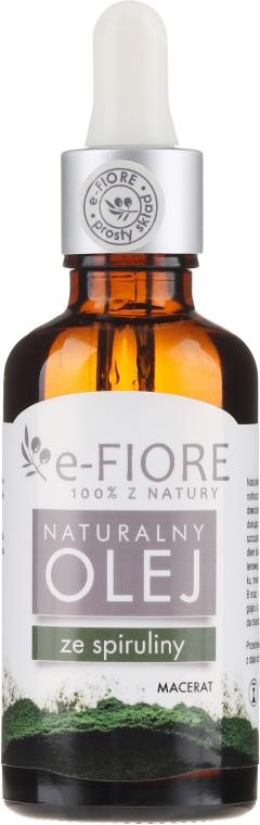 Масло спирулины - E-Flore Natural Oil — фото N1
