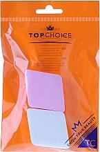 Духи, Парфюмерия, косметика Спонж для тональной основы, розовый с белым, 6432 - Top Choice