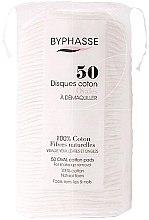Духи, Парфюмерия, косметика Ватные диски для снятия макияжа 50шт - Byphasse Cotton