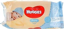 Духи, Парфюмерия, косметика Детские влажные салфетки Pure 56 шт - Huggies