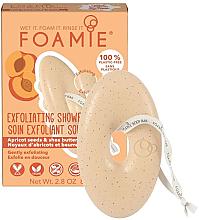 Духи, Парфюмерия, косметика Мыло-скраб для тела с абрикосовыми косточками и маслом ши - Foamie Exfoliating Body Bar With Apricot Seeds & Shea Butter
