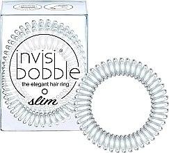 Духи, Парфюмерия, косметика Резинка для волос - Invisibobble Slim Crystal Clear