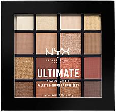Духи, Парфюмерия, косметика Палетка теней - Nyx Professional Makeup Ultimate Shadow Palette