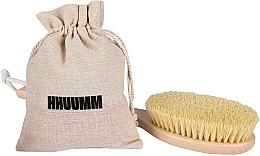 Духи, Парфюмерия, косметика Щетка для массажа тела с волокном тампико, удлиненная - Hhuumm № 5