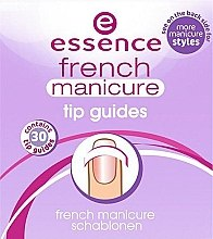 Духи, Парфюмерия, косметика Шаблоны для французского маникюра - Essence French Manicure Tip Gu