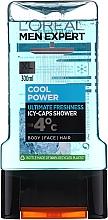 Духи, Парфюмерия, косметика Гель для душа - L'Oreal Men Expert Cool Power Icy-Caps Shower