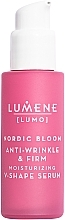 Духи, Парфюмерия, косметика Укрепляющая и подтягивающая сыворотка для лица - Lumene Lumo Nordic Bloom Anti-wrinkle & Firm Moisturizing V-Shape Serum