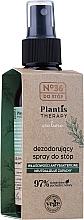 Духи, Парфюмерия, косметика Дезодорант-спрей для ног - Pharma CF No.36 Plantis Therapy Foot Spray