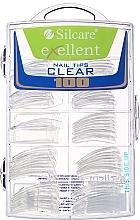 Духи, Парфюмерия, косметика Типсы для ногтей, d/k - Silcare Tipsy Exellent Clear