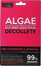 Духи, Парфюмерия, косметика Экспресс-маска для зоны декольте - Beauty Face IST Deep Moisturizing & Lifting Decolette Mask Algae