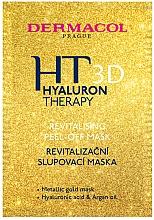 Духи, Парфюмерия, косметика Восстанавливающая маска-пилинг для лица - Dermacol Hyaluron Therapy 3D Revitalising Peel-off Mask