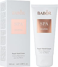 Духи, Парфюмерия, косметика Восстанавливающий крем для рук - Babor SPA Shaping Repair Hand Cream