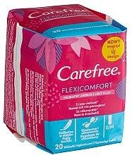 Духи, Парфюмерия, косметика Гигиенические ежедневные прокладки - Carefree Flexi Comfort Pantyliners With Soft Scent