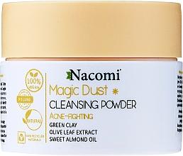 Духи, Парфюмерия, косметика Очищающая пудра для лица для жирной кожи - Nacomi Face Cleansing & Acne Fighting Powder Magic Dust