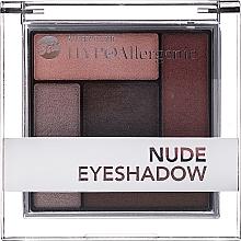 Духи, Парфюмерия, косметика Гипоаллергенные сатиново-кремовые тени для век - Bell Hypoallergenic Nude Eyeshadow