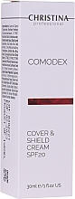 Духи, Парфюмерия, косметика Защитный крем для лица с тонирующим эффектом - Christina Comodex Cover & Shield Cream SPF20