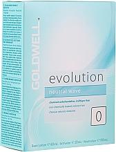Духи, Парфюмерия, косметика Набор для химической завивки густых волос - Goldwell Evolution Neutral Wave 0 Set