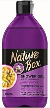 Духи, Парфюмерия, косметика Гель для душа - Nature Box Passion Fruit oil Shower Gel