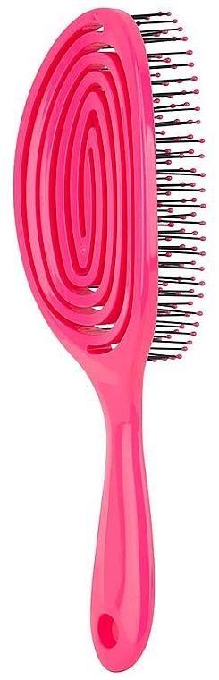 Щетка для длинных волос, розовая - Beter Elipsi Detangling Brush Large Fucsia — фото N2